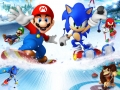 Mario & Sonic At The Olympic Winter Games - DS Pack Art (Clean)