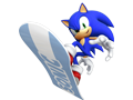 Sonic At The Olympic Winter Games - Sonic (Signature Art)