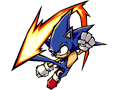 Sonic - Signature Art - Down Kick #2