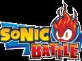 Sonic Battle - Logo (English)