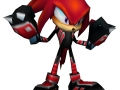 Sonic Rivals - Alternate Costumes - Knuckles Leatherse