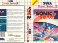 Sonic The Hedgehog 2 - Master System Boxart (Europe #2)