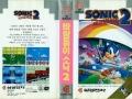 Sonic The Hedgehog 2 - Master System Boxart (Korea)