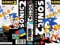 Sonic The Hedgehog 2 - Mega Drive Boxart (Japan)