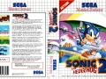 Sonic The Hedgehog 2 - Master System Boxart (Europe #1)