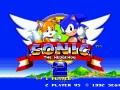Sonic The Hedgehog 2 - Title Screen
