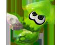 Splatoon - Green Squid