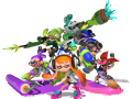 Splatoon - Characters Group #1