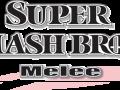 Super Smash Bros. Melee - Black Logo