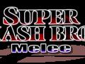 Super Smash Bros. Melee - Black & Red Logo