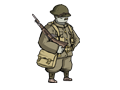 Valiant Hearts  - Renders - British Soldier