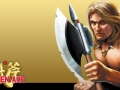 SEGA Mega Collection (PSP) - Golden Axe / Axe Battler
