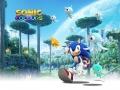 Sonic Colours / Sonic Colors - Set 2 #1 - Running Keyart (EU)