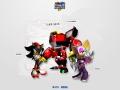 Sonic Heroes - Notepad Style - Team Dark