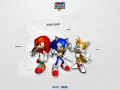 Sonic Heroes - Notepad Style - Team Sonic