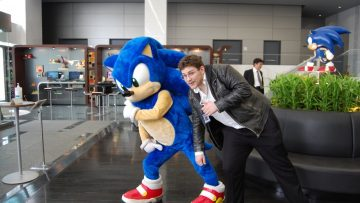 Kevin and Sonic at SOJ