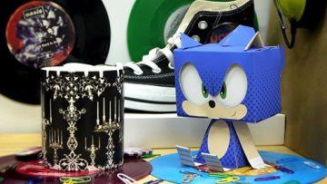Papercraft Sonic 3