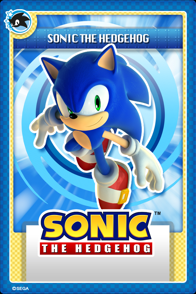 Sonic Stampii Card