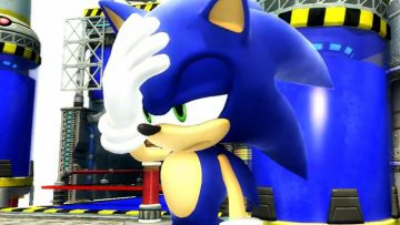 Sonic Facepalm / Failure