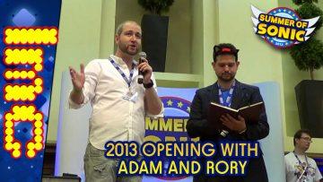 Summer Of Sonic 2013 – Opening With T-Bird & Roareye