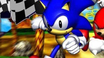 Sonic R – Header