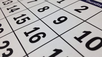 calender time dates