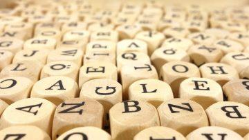 Alphabet Blocks Letters