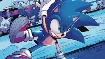 IDW Sonic The Hedgehog Comic Header