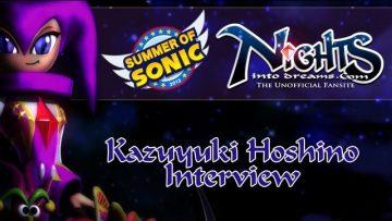 Summer of Sonic – NiD.com Interview Kazuyuki Hoshino