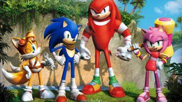 Sonic Boom Art / Header
