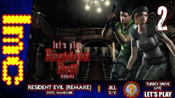 TDL Let's Play Resident Evil REmake – Jill Part 2: Once Again Mode
