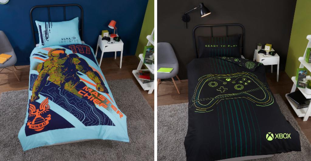 XBOX & Halo Bedding