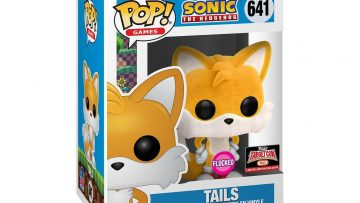 Flocked Tails 30th Anniversary Funko POP – Target Con 2021 Exclusive