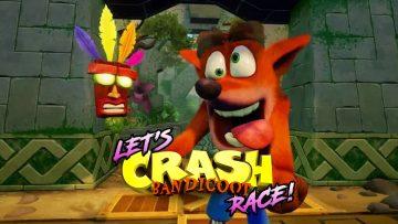 Crash Bandicoot (Let's Race)