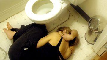 Lying-On-Bathroom-Floor