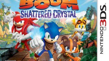 Sonic Boom: Shattered Crystal Box Art