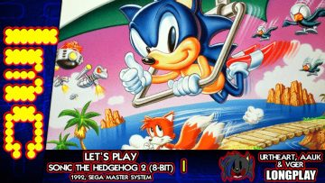 CURSE OF THE HANG GLIDER | Sonic The Hedgehog 2 (8-Bit) – Longplay