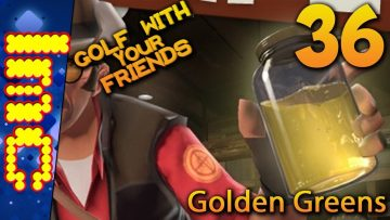 GOLDEN GREENS | Golf With Your Friends Gameplay #36