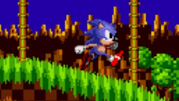 Header: Classic Sonic / Genesis / 1991 / Sonic The Hedgehog 1 /