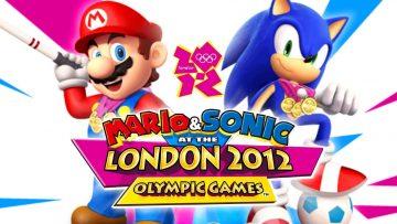 Header: Mario & Sonic 2012 London