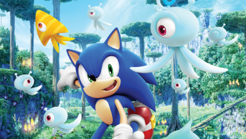 Header: Sonic Colours / Colors