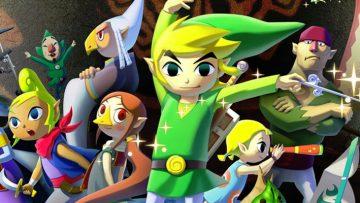 Header: Legend Of Zelda: The Wind Waker
