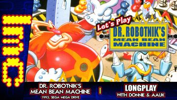 Let's Play Dr. Robotnik's Mean Bean Machine