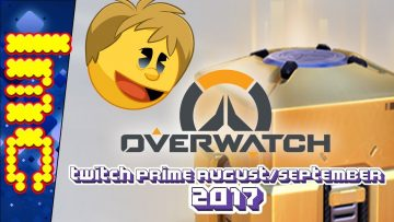 Overwatch With Andy – Twitch Prime August/September 2017 Loot Boxes & Lúcioball