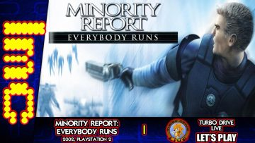 RAGING TO DESTRUCTION | TDL Let's Play Minority Report: Everybody Runs