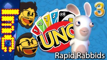 RAPID RABBIDS | Uno w/The Crew #3