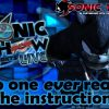 """Sonic Show Live Highlights: """"No One Ever Reads The Instructions"""""""