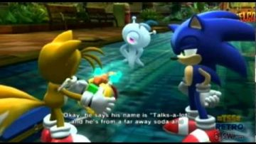 "WORLD EXCLUSIVE – Sonic Colours Cutscene: ""Tails & The Translator"""